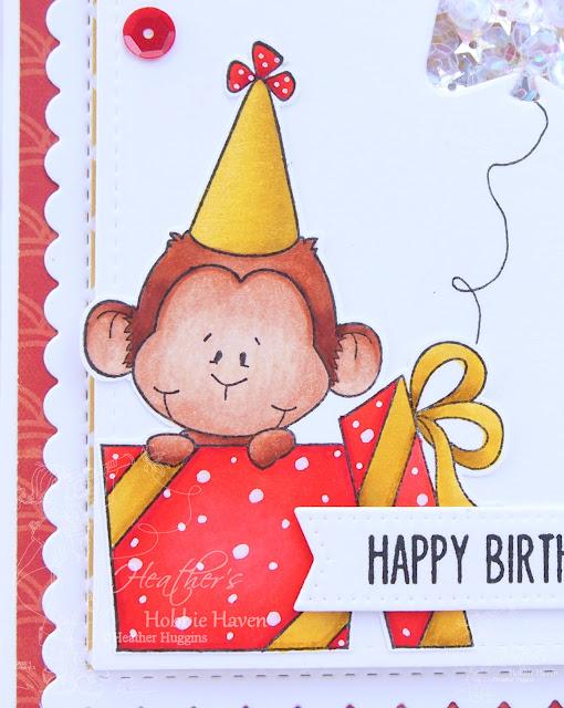 Heather's Hobbie Haven - Monkey Zoo Card Kit