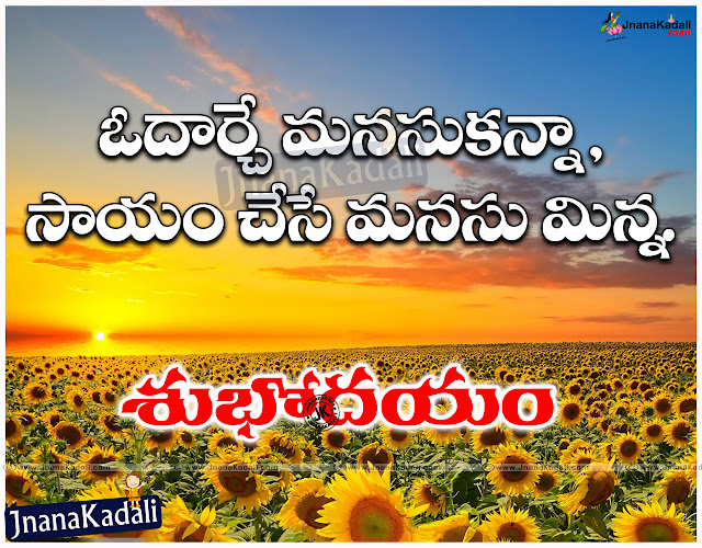 Here is a New Telugu 2016 Good Morning Greetings and Nice Pictures in Telugu Language, Popular Telugu Good Morning Wishes for Facebook, Whatsapp and fb Telugu Morning Quotations, Don't copy others Quotations in Telugu Language Best Telugu Quotations Free Online, Telugu Inspirational Good Morning Thought for The Day Quotations.