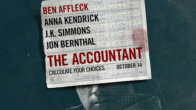 CINE ΣΕΡΡΕΣ, Ben Affleck, Anna Kendrick, J.K. Simmons, Gavin O'Connor, The Accountant (2016),