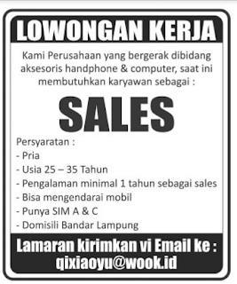 Lowongan Kerja Lampung AGUSTUS 2016
