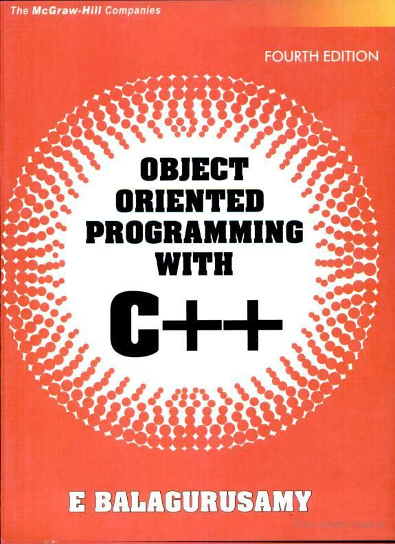Free Computer Books Pdf: Object oriented programming with