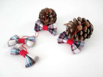 fabric bows for christmas
