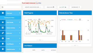 Enterprise web analytics - CustomerEngagePro Analytics tool