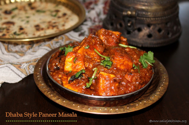 images of Dhaba Style Paneer Masala / Paneer Masala / Restaurant Style Paneer Masala - Paneer Recipes