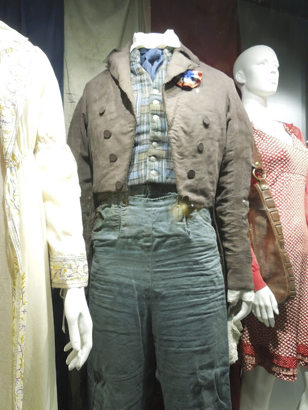 Eddie Redmayne Marius Les Miserables movie costume