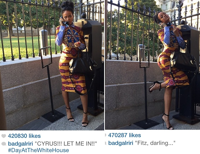 African-fashion trend: Rihanna on Stella Jean