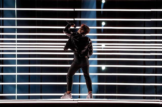 Benjamin Ingrosso en Eurovisión