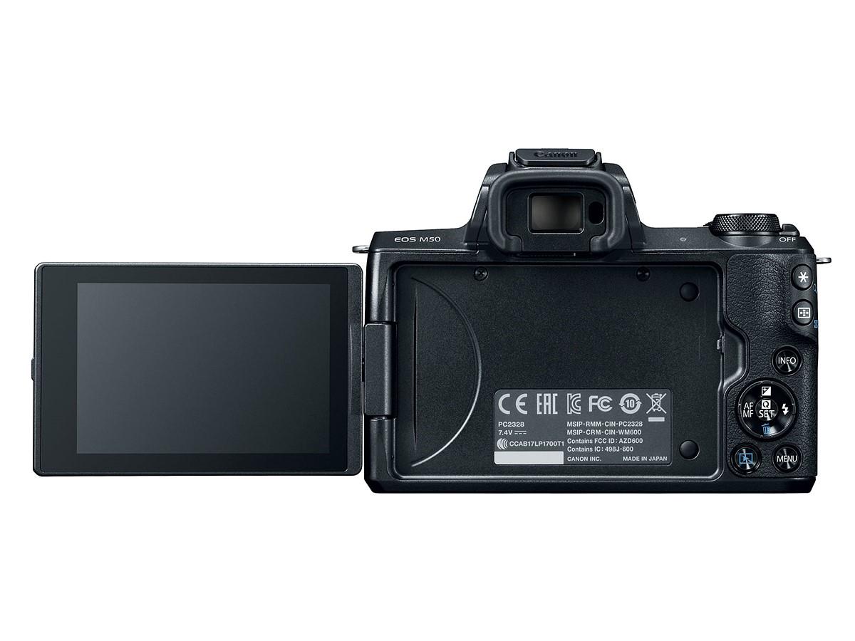 Canon EOS M50 с откидным экраном
