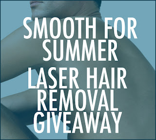 LASERHAIR_GIVEAWAY_GUY GIVEAWAY! Smooth for Summer: Win Laser Hair RemovalGiveaway laser hair removal