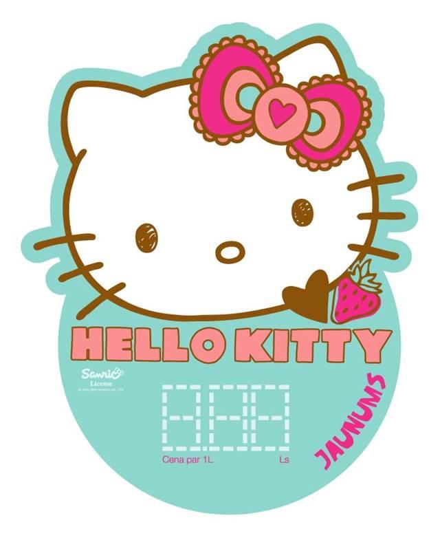 logo tin air berkarbonat hello kitty