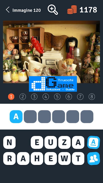 Soluzioni 1 Immagine 8 Parole soluzione livello 111-120