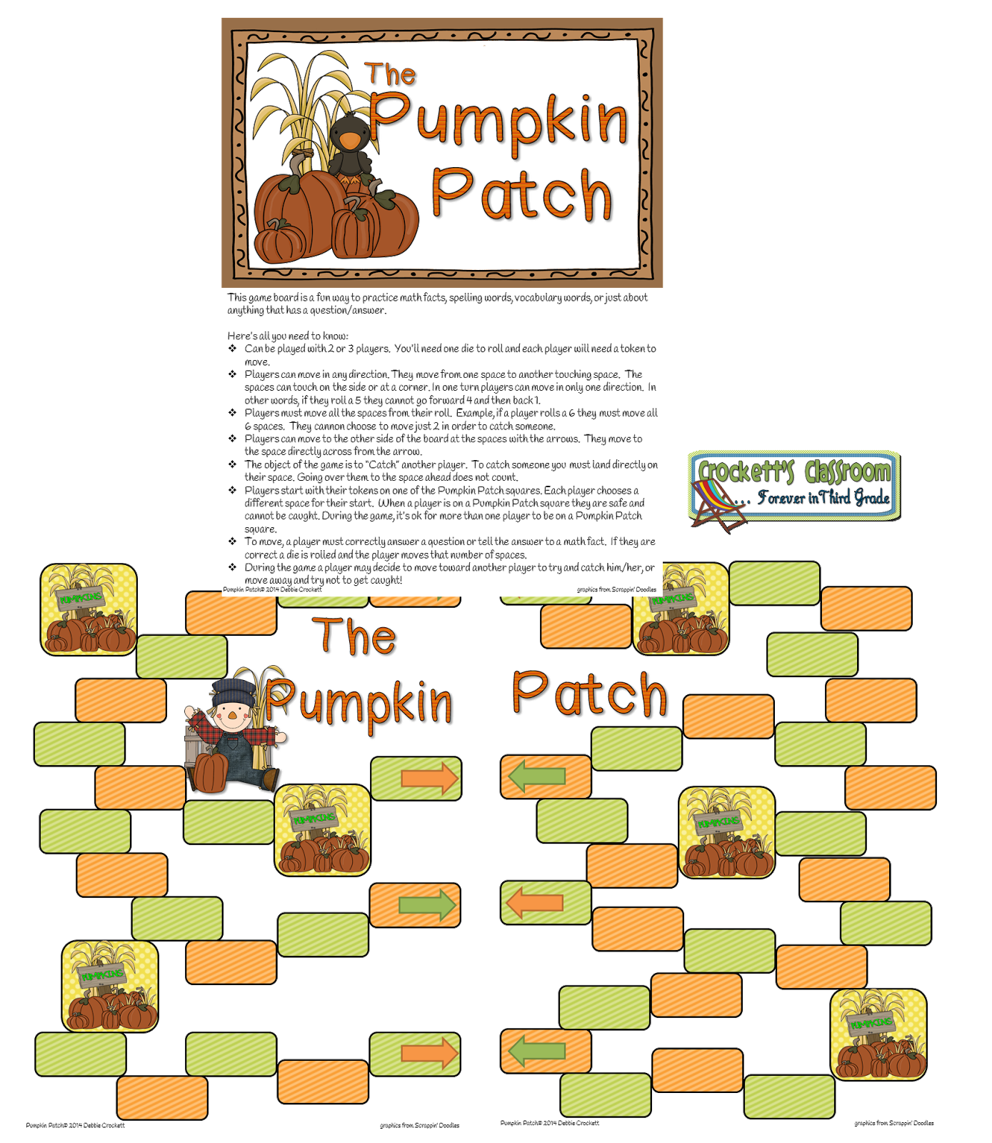 Pumpkin Patch Game