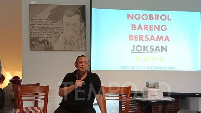 Djoksan: Kekuatan Doa akan Membuat Prabowo Presiden RI