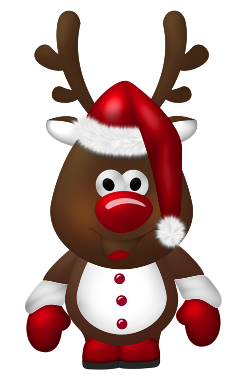Free Christmas Reindeer Images - Oh My Fiesta! in english
