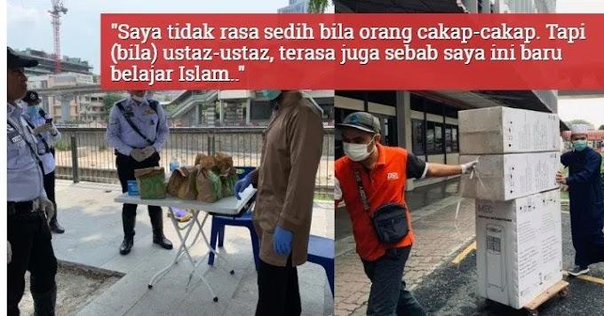 Ustaz Ebit Lew Mohon Maaf Pada Semua Yang Tak Senang Dengan Kerja Amal Jariahnya