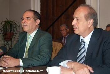 Edelmiro González Rojas y Arnoldo Enríquez González