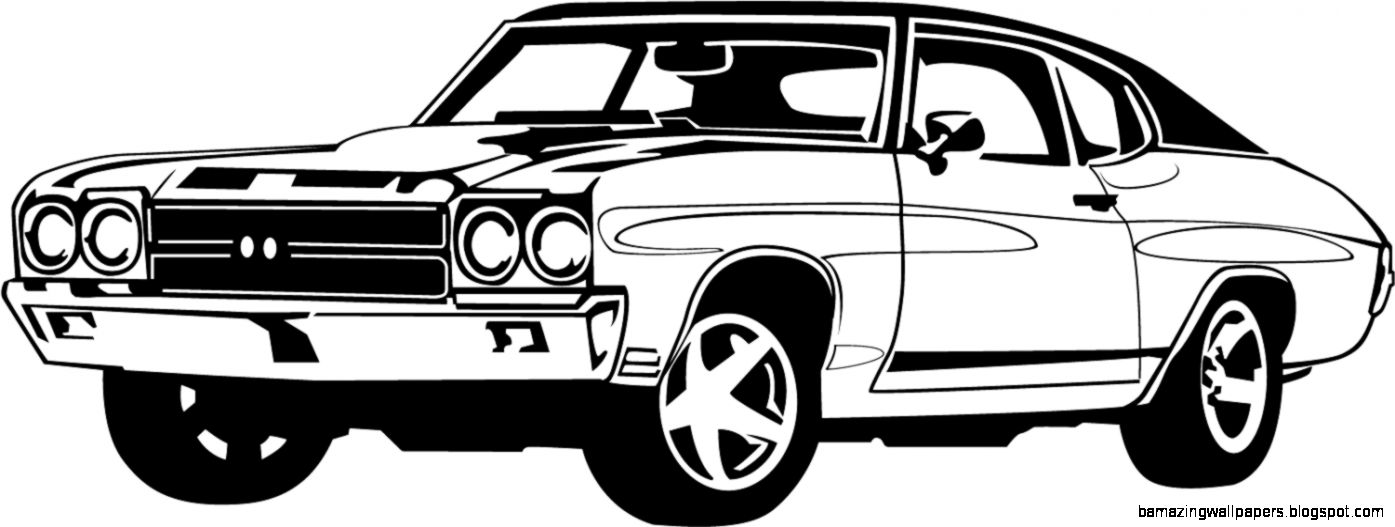 Classic Car Clipart Black And White Amazing Wallpapers