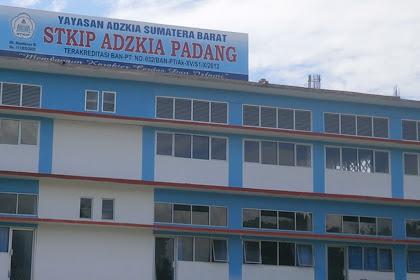 Pendaftaran Mahasiswa Baru STKIP Adzkia-PADANG 2021-2022