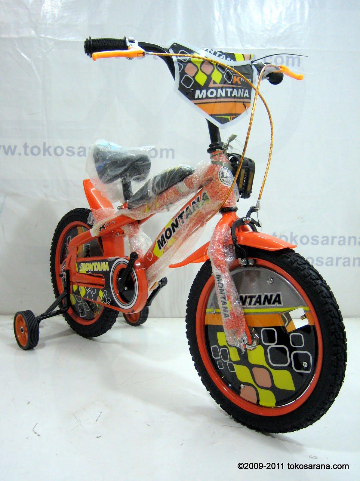 Tokomagenta A Showcase Of Products Sepeda Anak Montana