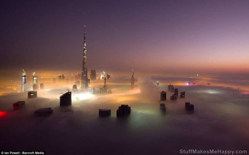 Clouds Are Not The Limit: The Tallest Building In The World Burj Khalifa