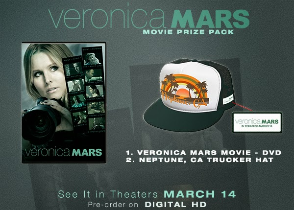 Veronica Mars DVD prize pack