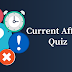 Current Affairs Quiz; 29 January 2018