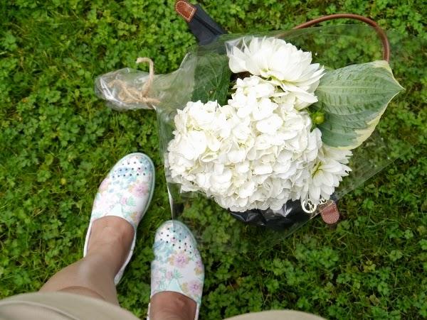 Native Shoes 'Verona' Botanical Print Slip-Ons