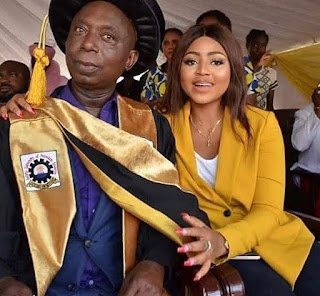 Regina Daniels and Husband