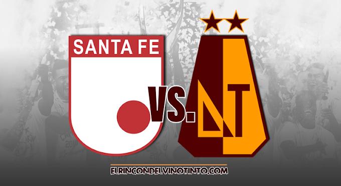 Dimayor aplazaría partido entre Santa Fe y DEPORTES TOLIMA, por la segunda fecha de la Liga BetPlay 1 2021