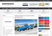 Sora Bank Blogger Template