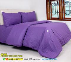 Sprei Custom Polos Dan Garis Polos Purple