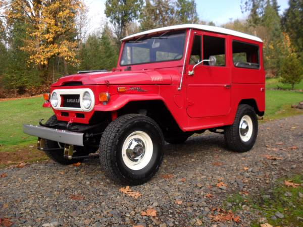 Original Survivor 1971 Toyota Land Cruiser FJ40