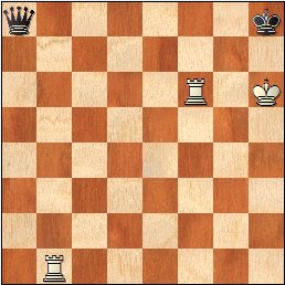 Estudio artístico de ajedrez de Henri Rinck, Tidskrift foer Schack nº37, 1917