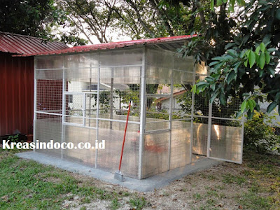 Jasa Pembuatan Kandang Kucing Besi di Bandung dan Jabodetabek