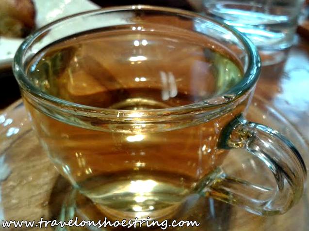 Taiwan Jin Xuan Buttermilk Oolong Tea,  Pearl River Café Trinoma, Chinese Food,  Yummy, Delicious, Mint