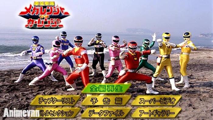 Ảnh trong phim Denji Sentai Megaranger vs Carranger 1