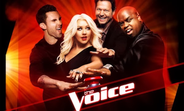 Judges of The Voice singing reality show