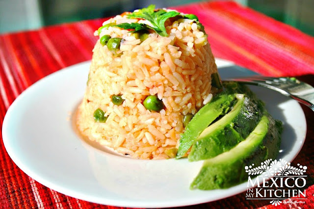 Mexican-Rice-recipe  Arroz Mexicano step by step recipe