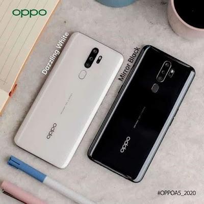 ألوان هاتف Oppo A5 2020