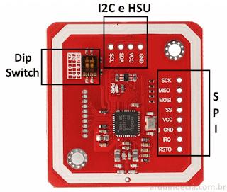 Módulo PN532 NFC - Detalhes