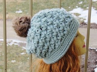 Crochet Dreamz: Winter Blossom Slouch Crochet Pattern, Options to Make ...