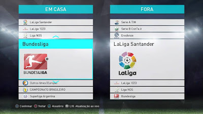 PES 2018 PS4 Option File FULL by Emerson Pereira Season 2017/2018