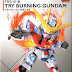 SD EX-Standard Try Burning Gundam - Release Info, Box art and Official Images