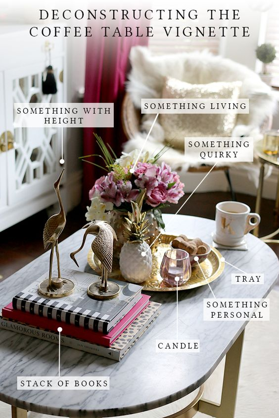 9 COFFEE TABLE STYILING IDEAS