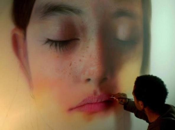Green Pear Diaries, arte, pintura, hiperrealismo, Kamalky Laureano