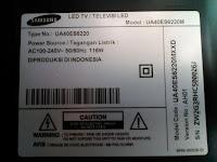 Service Samsung Smart TV Tangerang UA40ES6220M