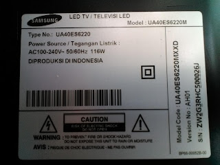 Samsung Smart TV UA40ES6220M