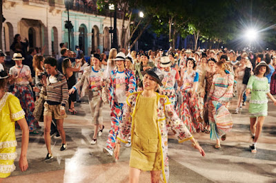 The Chanel cruise 2016/2017 show in Havana, Cuba. Photo: Chanel