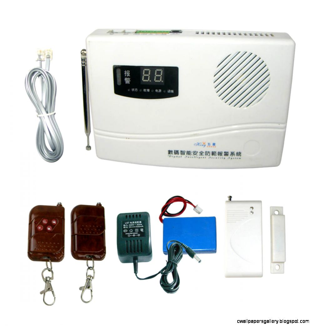 Wireless Burglar Alarm Systems