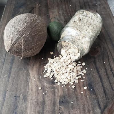 Coconut Lime Macadamia nut granola